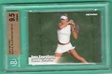 2003 NETPRO #10 Anna Kournikova ROOKIE RC BGS 9.5 GEM MINT CENTERED NO RESERVE