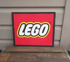 "Lego Metal Sign Toy Advertising Game Room Mancave 10x12"" 50134"