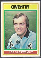 TOPPS-FOOTBALL (BLUE BACK 1976)-#069- COVENTRY CITY - LESLIE CARTWRIGHT