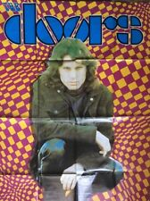 Original Vintage Poster The Doors Jim Morrison Psychedelic 1970's Pin-up 70's