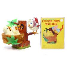1950s FEEDING BIRD WATCHER in BOX by Linemar RARE!