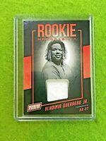 VLADIMIR GUERRERO JR ROOKIE JERSEY CARD RC BLUE JAYS SP 2019 Panini The National