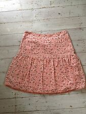 White Stuff Summer Skirt - Orange Ditsy - Size 12