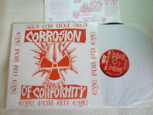 CORROSION OF CONFORMITY - Eye for an Eye LP Toxic Shock Rec. US 1986 In Shrink