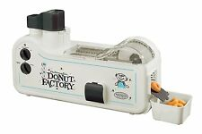 Nostalgia MDF200 Electrics Automatic Mini Donut Factory In White Color NEW