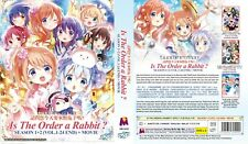 ANIME DVD~Is The Order A Rabbit?Season 1+2(1-24End+Movie)Eng sub FREE SHIP+GIFT