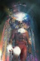 Daredevil in Cathedral Dramatic Superhero Comic Book Wall Art Limited Print