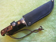 RARE WIDDER SOLINGEN GERMANY ALASKAN SPORTSMAN Fixed Blade knife EXCELENT