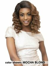 "ELLA - 12"" Natural Wavy Lace Based Deep Part Wig - Janet Collection"