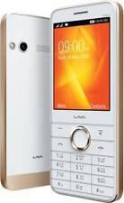 Lava Spark Icon X(white gold)2.8 inch Screen,Mobile Tracker, FM with recording