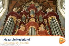"""POSTZEGELMAPJE M539 - 539  """"MOZART IN NEDERLAND 2016"""""""