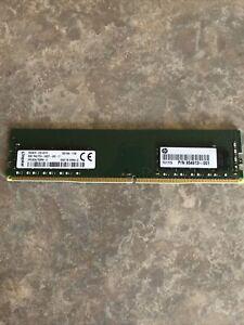 Kingston 8GB HP24D4U7S8MD-8 HP Desktop Memory DDR4-2400T(1x8GB,288P) 854913-001