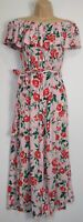 New Marks & Spencer Ltd Edt Bardot Floral Jumpsuit - UK Size 6 - 16