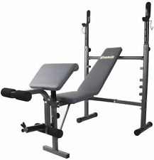 Body Champ Weight Bench with Preacher Curl & Leg Developer - NEW in BOX!!