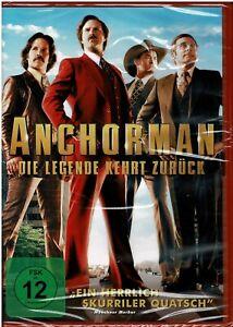 Anchorman - Die Legende kehrt zurück (DVD) Film - NEU & OVP
