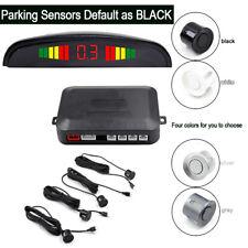 Car Sensor Backup Reverse Rear View Radar Alarm System Black Sliver  White Gray