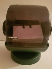 Vintage ROLODEX Large Round File Index Cards Swivel Stand