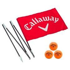 Callaway Golf Backyard Driving Range Flag with Practice Balls  (CT27050)