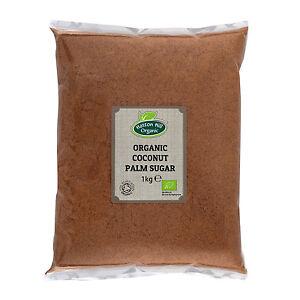Organic Coconut Palm Sugar 1kg Certified Organic