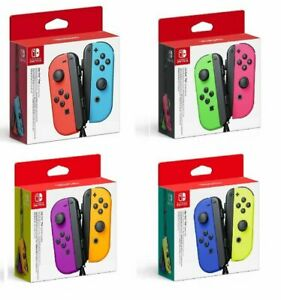Nintendo Coppia Set Joy-Con Controller Gamepad Originale Per Nintendo Switch