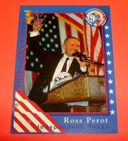 1992 Wild Card Decision '92 Promo #P1 Billioniare Henry Ross Perot Non-Sports