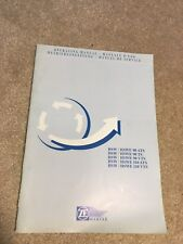 ZF Marine gear Transmission Operating Manual O&M owners HSW 90 ATS TS 110 VTS