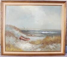 HST huile sur toile marine signé Karl Neumann peinture tableau
