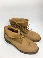 Men's Timberland Earthkeepers Nubuck Leather Work Boots 3717 •Size 12W *EUC