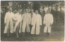 Carte photo. Brancardiers, hôpital des Enfants Malades. Épinette, socialisme.