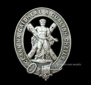 2nd Highland Coy., 1st City of Edinburgh Rifle Volunteer Corps Glengarry Badge