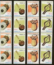 20 Blocks of 4 & Single Stamps Mozambique 1181-1184 Cat Value Instruments