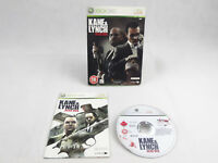 Kane & Lynch Dead Men + sleeve Xbox 360 Complete PAL
