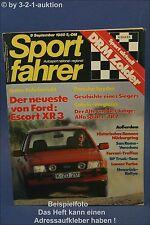 Sportfahrer 9/80 Buggy Albar S TR 7 Alfa Spider