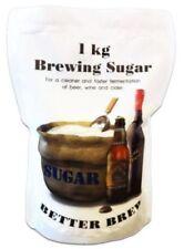 1 kg Brewing Sugar for Beer, wine, cider making Dextrose 1KG Fast Free Delive