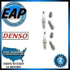 For BMW Lexus Volvo Subaru K20HRU11 DENSO Regular Resistor Spark Plug Set Of 6