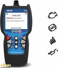 Innova 3040e OBD2 Scanner / Car Code Reader with ABS, Live Data, and Service Lig