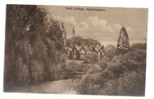 YORK COTTAGE, SANDRINGHAM, NORFOLK.  unused antique postcard