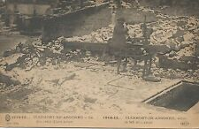 Clermont-In-Argonne France What Is Left Of It Postcard 1915