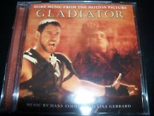 Gladiator More Music From The Motion Picture Soundtrack CD – Like New