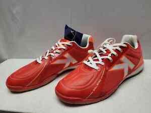 KELME indoor sense skill series orange soccer shoes size 10.5 / t5