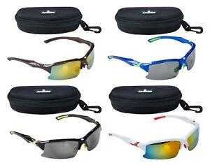 ACCLAIM Titan Cycling Sunglasses Sportsglasses Plastic Frame Blue Bronze Black