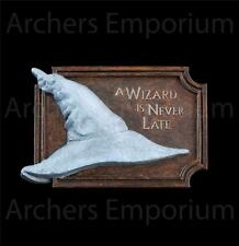 A Wizard is Never Late Magnet. Lord of the Rings. Weta Collectables. Hobbit. New