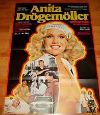 Erotik Plakat ANITA DRÖGEMÖLLER Monique van de Ven **