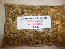 1 oz. Chamomile Flowers Whole (Matricaria chamomilla)
