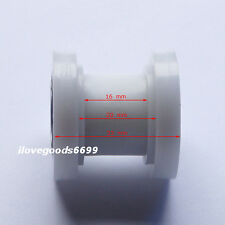 White 10mm Pulley Chain Roller Tensioner For XR CRF KLX Thumpstar Pit Dirt Bike