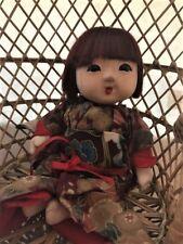 Vintage Japanese Ichimatsu Gofun Girl  doll FREE SHIP