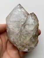 Genuine Large 110mm NY Herkimer Diamond Rainbow Quartz Crystal, Unique form