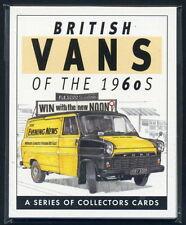 BRITISH VANS of the 60's Collectors Card Set - Morris Ford Transit Austin Commer