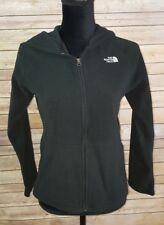 Euc Girls Black Fleece The North Face Jacket Size Xl 18