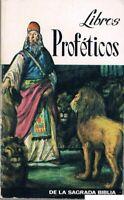 LIBROS PROFÉTICOS DE LA SAGRADA BIBLIA BIBLIOTECA SOPENA 1969